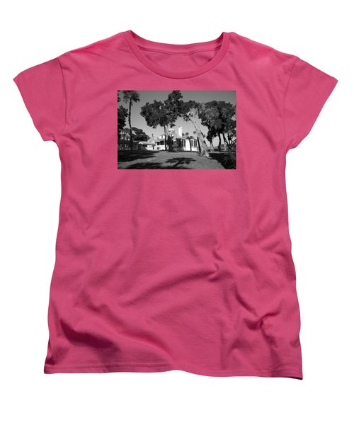 Women's T-Shirt (Standard Cut) featuring the photograph The Kingsley Plantation by Lynn Palmer