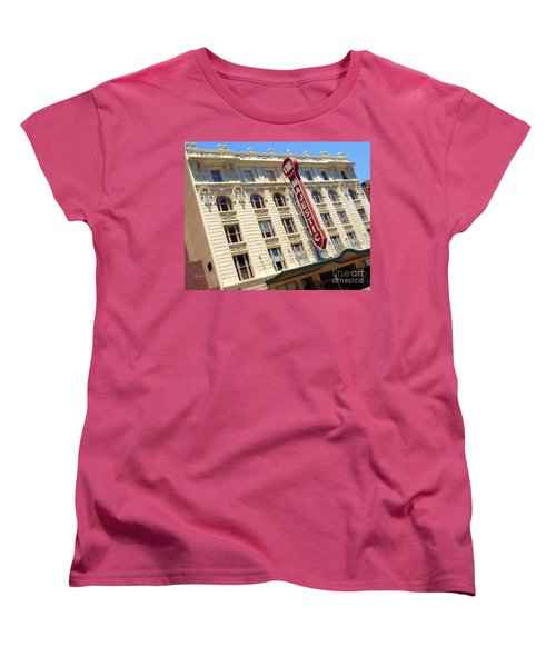 Women's T-Shirt (Standard Cut) featuring the photograph The Majestic Theater Dallas #1 by Robert ONeil