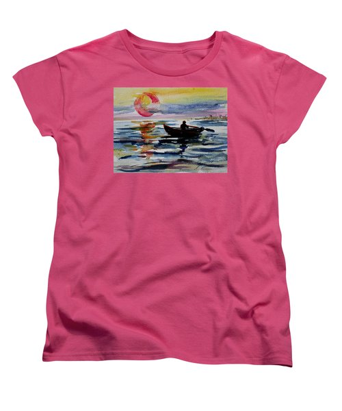 The Old Man And The Sea Women's T-Shirt (Standard Cut) by Xueling Zou