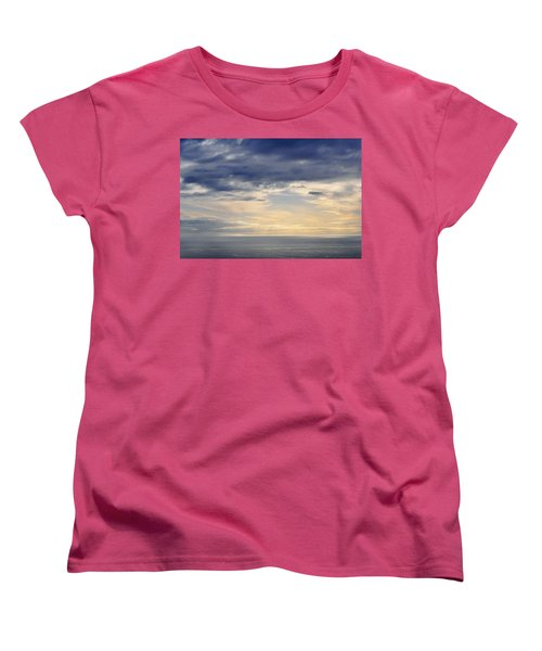 Women's T-Shirt (Standard Cut) featuring the photograph The Pacific Coast by Kyle Hanson
