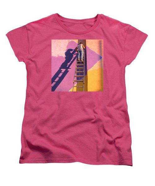 The Painter Women's T-Shirt (Standard Cut) by Don Spenner