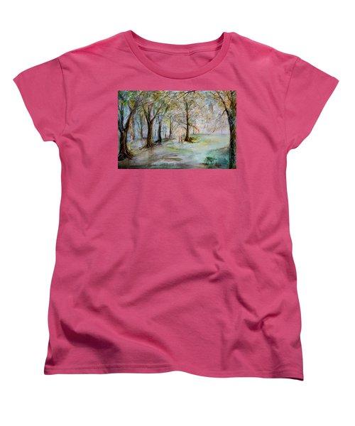 The Park Bench Women's T-Shirt (Standard Cut)