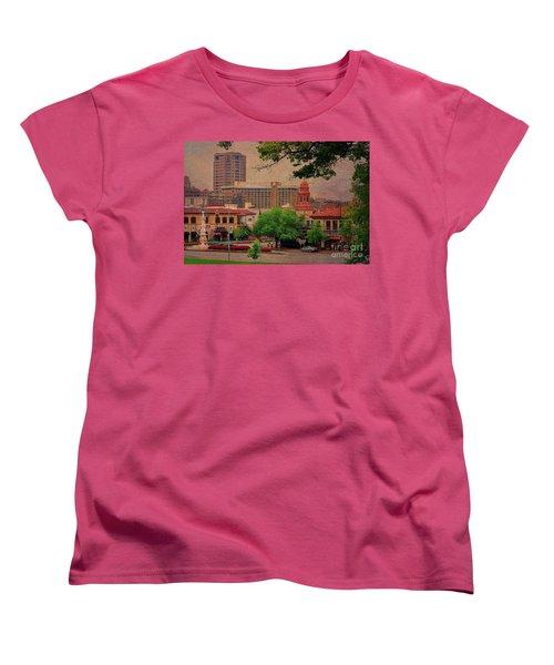 The Plaza - Kansas City Missouri Women's T-Shirt (Standard Cut) by Liane Wright