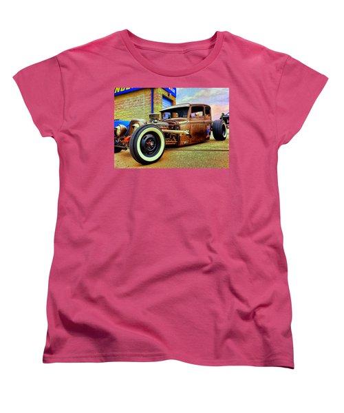 The Rat Women's T-Shirt (Standard Cut) by Michael Pickett