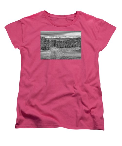 Women's T-Shirt (Standard Cut) featuring the photograph The Ridge 18th by Ron White