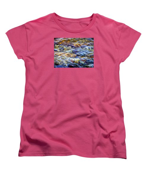 The River Women's T-Shirt (Standard Cut) by Susan  Dimitrakopoulos