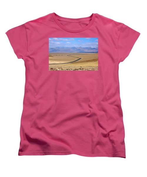 Women's T-Shirt (Standard Cut) featuring the photograph The Road by Stuart Litoff