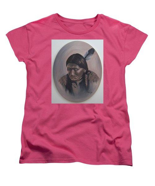 The Story Teller Women's T-Shirt (Standard Cut) by Michael  TMAD Finney