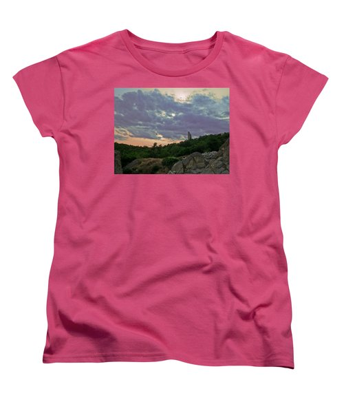 Women's T-Shirt (Standard Cut) featuring the photograph The Tower by Eti Reid