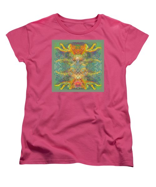 The Tree Of The Knowledge Of Good And Evil Women's T-Shirt (Standard Cut) by Hidden  Mountain