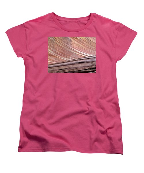 Women's T-Shirt (Standard Cut) featuring the photograph 'the Wave' North Coyote Buttes 02 by Jeff Brunton