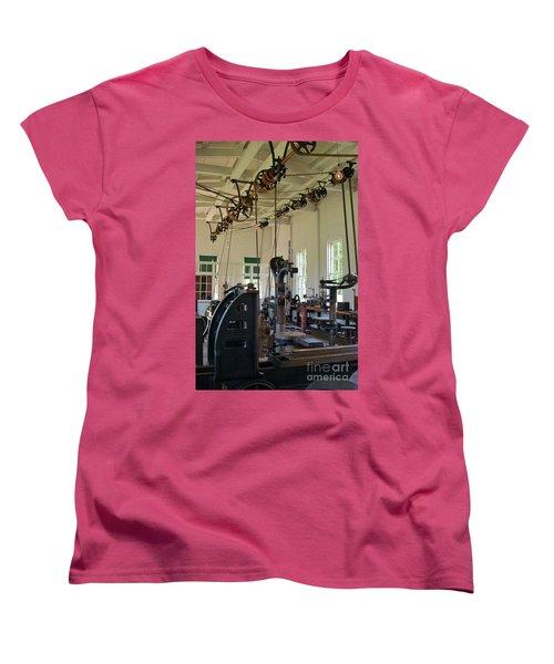 Women's T-Shirt (Standard Cut) featuring the photograph The Work Shop by Patrick Shupert
