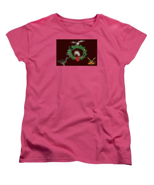 Women's T-Shirt (Standard Cut) featuring the photograph These Are A Few Of My Favorite Things 2 by Donna Brown