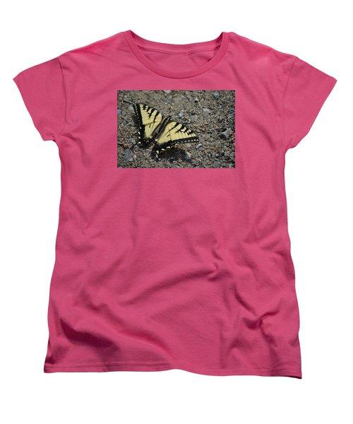 Women's T-Shirt (Standard Cut) featuring the photograph Tiger Swallowtail by James Petersen