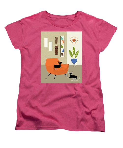 Tikis On The Wall Women's T-Shirt (Standard Cut)