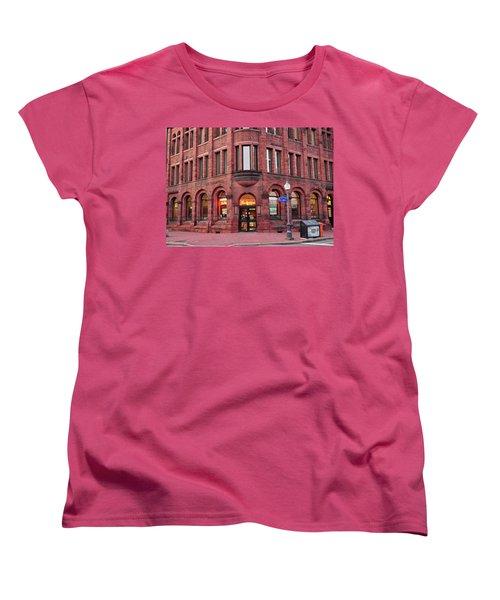 Tim Hortons Coffee Shop Women's T-Shirt (Standard Cut) by Glenn Gordon