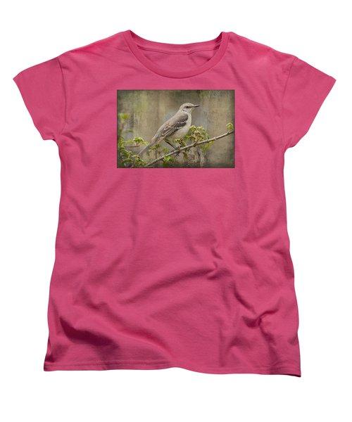To Still A Mockingbird Women's T-Shirt (Standard Cut) by Kathy Clark