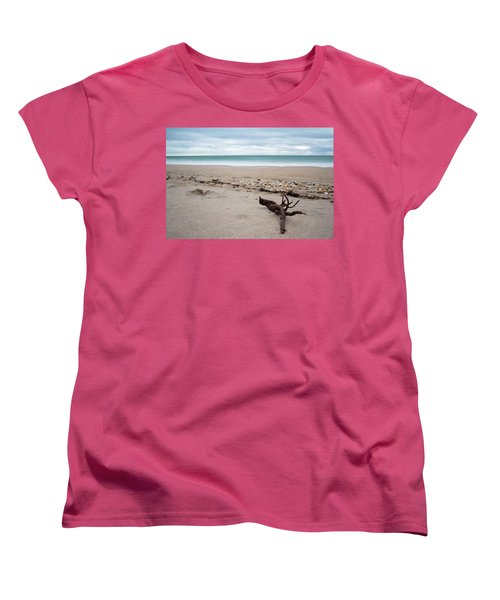 Topsail Island Driftwood Women's T-Shirt (Standard Cut) by Shane Holsclaw