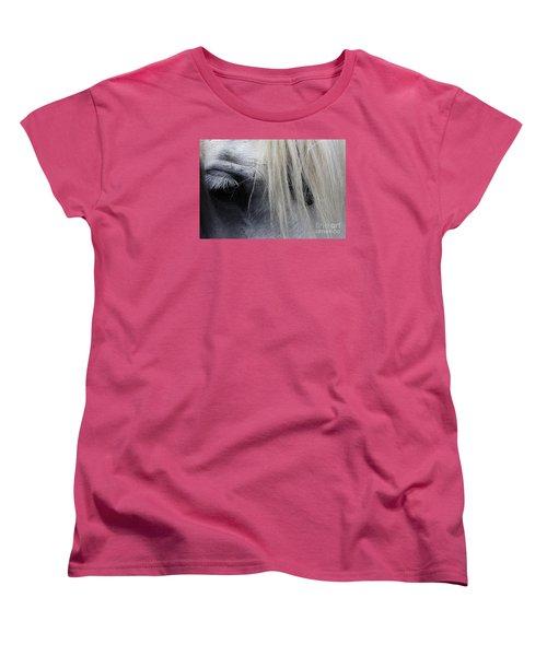 Touched My Heart Women's T-Shirt (Standard Cut) by Fiona Kennard