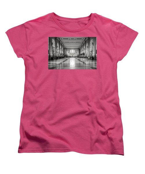 Train Station Women's T-Shirt (Standard Cut) by Sennie Pierson