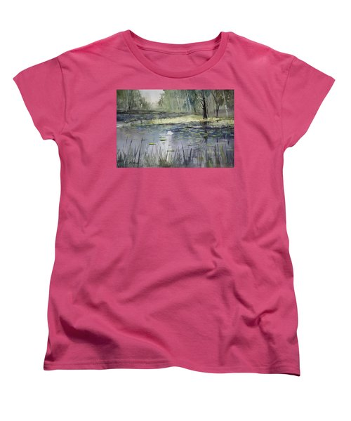 Tranquillity Women's T-Shirt (Standard Cut) by Ryan Radke