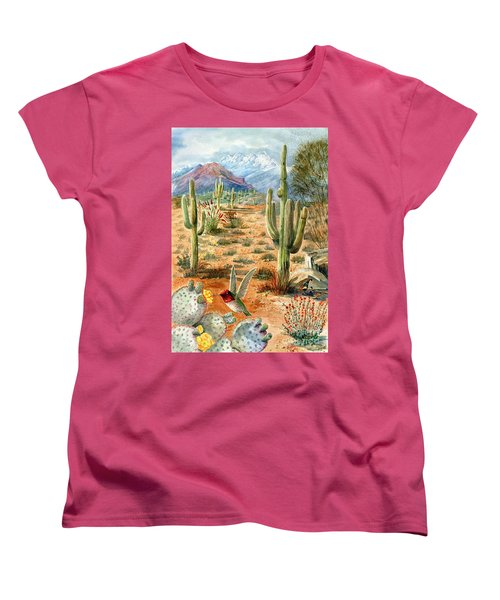 Treasures Of The Desert Women's T-Shirt (Standard Cut) by Marilyn Smith