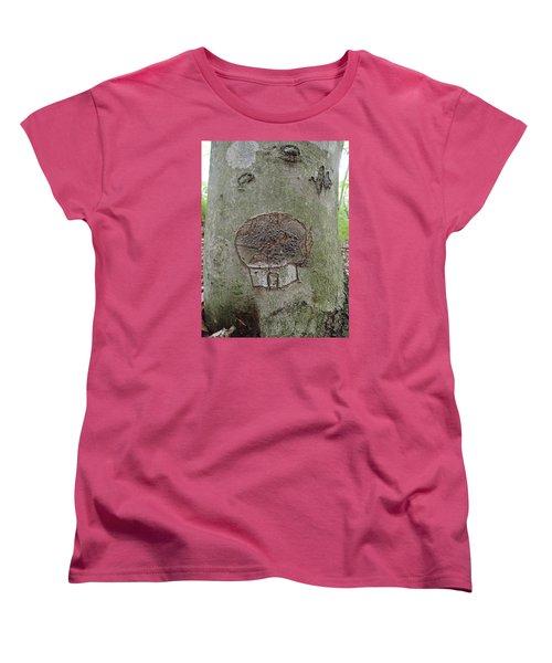 Tree Spirit Women's T-Shirt (Standard Cut) by Robert Nickologianis
