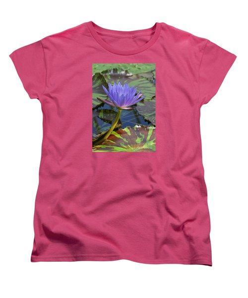 Tropic Water Lily 15 Women's T-Shirt (Standard Cut)