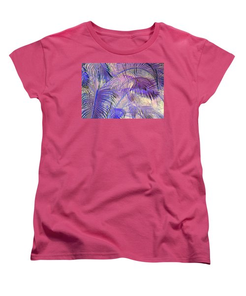 Tropical Embrace Women's T-Shirt (Standard Cut) by Roselynne Broussard