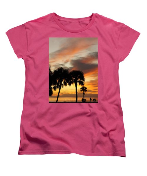 Tropical Vacation Women's T-Shirt (Standard Cut) by Laurie Perry