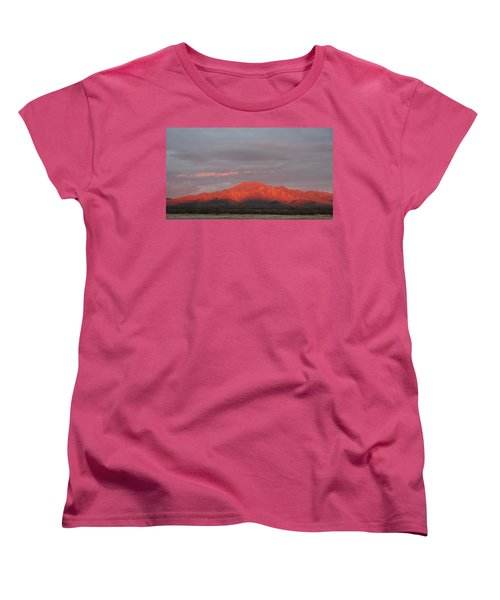 Women's T-Shirt (Standard Cut) featuring the photograph Tucson Mountains by David S Reynolds