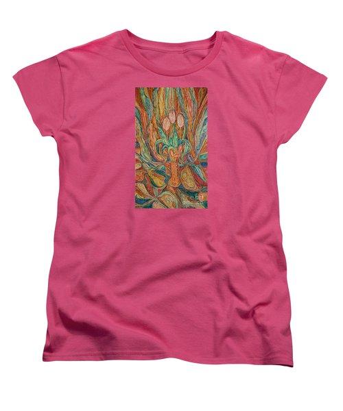 Tulips I Women's T-Shirt (Standard Cut) by Anna Yurasovsky