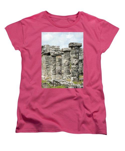 Women's T-Shirt (Standard Cut) featuring the photograph Tulum by Silvia Bruno
