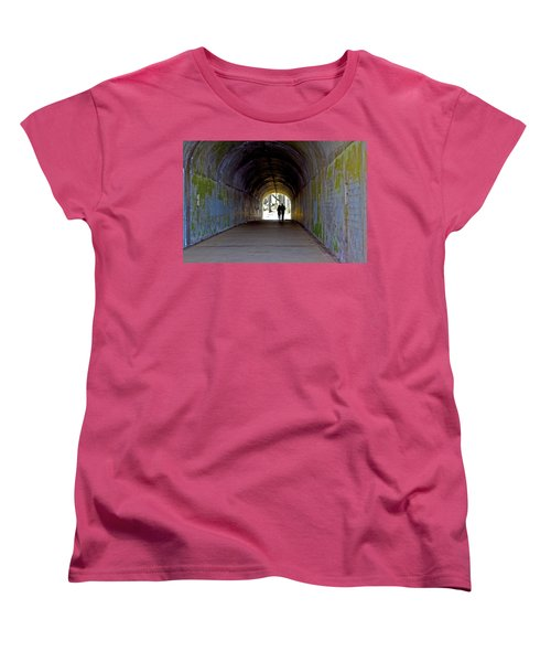 Tunnel Of Love Women's T-Shirt (Standard Cut)