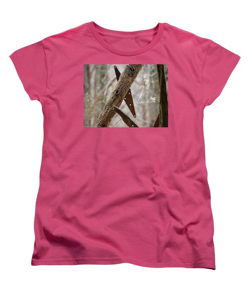 Women's T-Shirt (Standard Cut) featuring the photograph Unhinged by Nick Kirby
