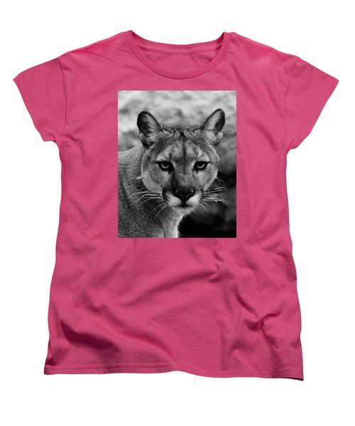 Untamed Women's T-Shirt (Standard Cut) by Swank Photography