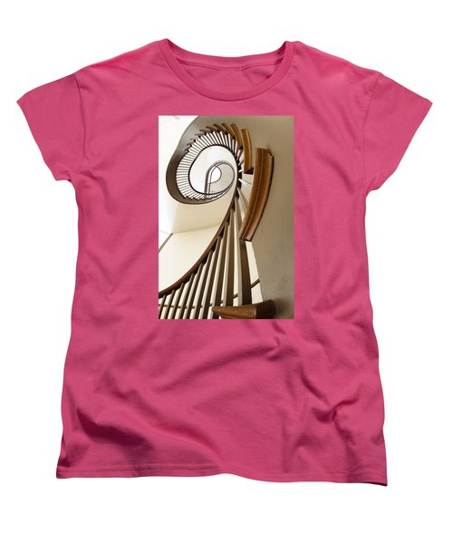 Up Stairs Women's T-Shirt (Standard Cut) by Alexey Stiop