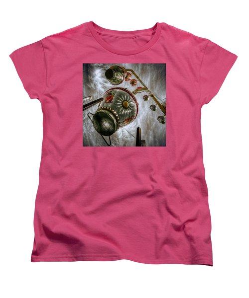 Upwardly Mobile Women's T-Shirt (Standard Cut) by Wayne Sherriff