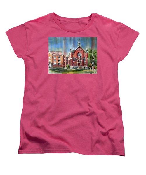 Ursuline Academy With Doves Women's T-Shirt (Standard Cut) by Kip DeVore