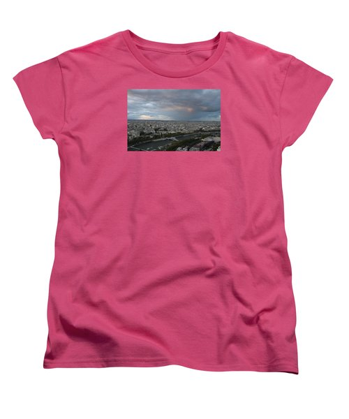 View Of Paris Women's T-Shirt (Standard Cut) by Ivete Basso Photography