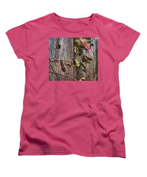 Vines And Barns Women's T-Shirt (Standard Cut) by Daniel Sheldon