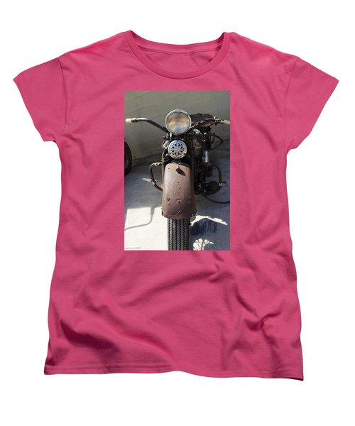Vintage Harley Women's T-Shirt (Standard Cut) by Nick Kirby
