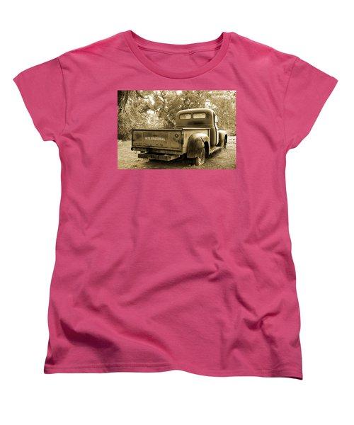 Women's T-Shirt (Standard Cut) featuring the photograph Vintage International by Steven Bateson