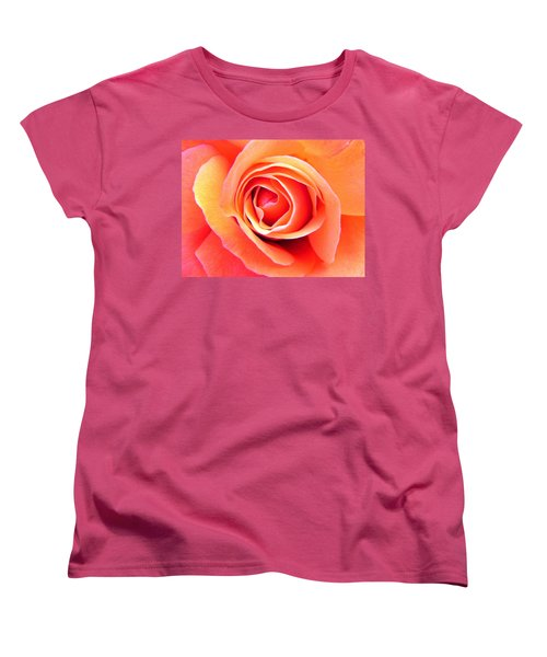 Women's T-Shirt (Standard Cut) featuring the photograph Vortex by Deb Halloran