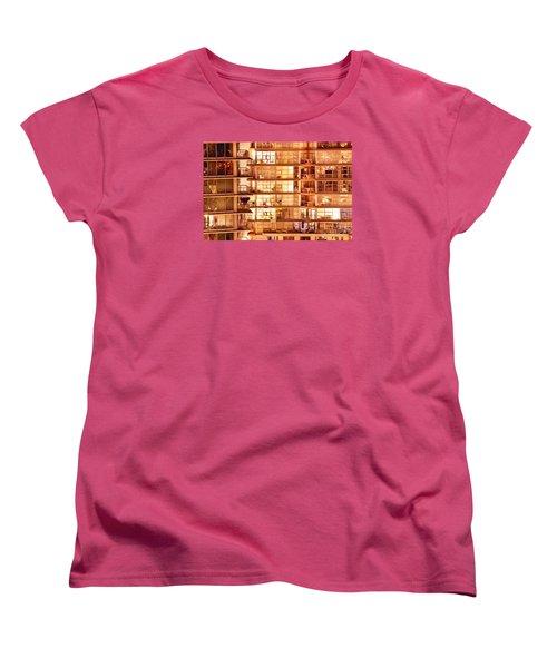 Women's T-Shirt (Standard Cut) featuring the photograph Voyeuristic Pleasures Cdxci by Amyn Nasser
