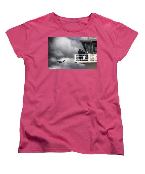 Waiting For You Women's T-Shirt (Standard Cut) by Paul Job