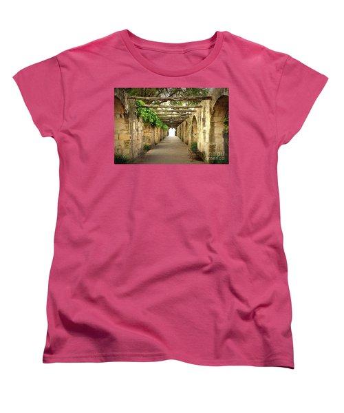 Walk To The Light Women's T-Shirt (Standard Cut)