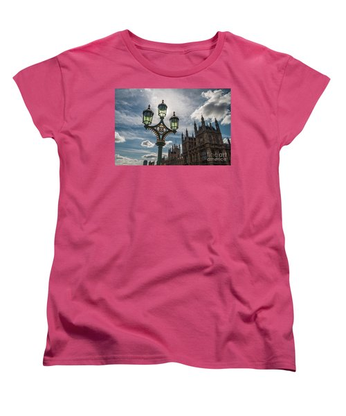 Women's T-Shirt (Standard Cut) featuring the photograph Westminster by Matt Malloy