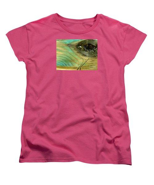 Whale Eye Women's T-Shirt (Standard Cut) by Michael Cinnamond