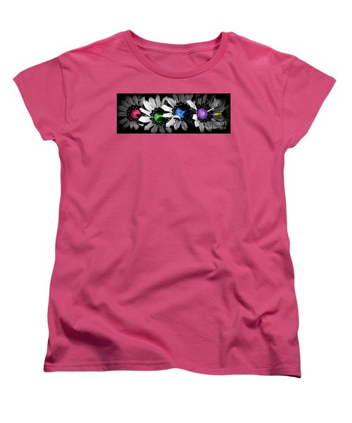 Colored Blind Women's T-Shirt (Standard Cut) by Janice Westerberg